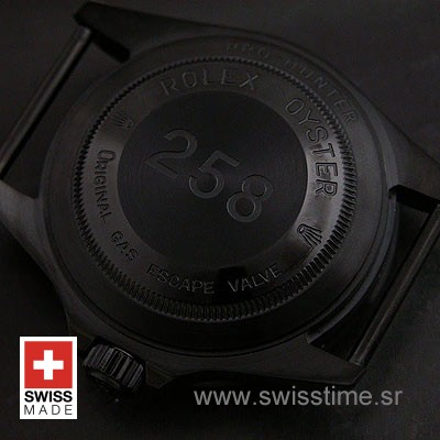 Rolex Sea Dweller DLC Pro-Hunter Strap-1332