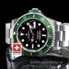 Rolex Submariner SS Green Bezel Swiss Replica