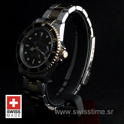 Rolex Submariner 2Tone Black-4
