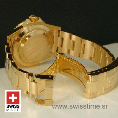 Rolex Submariner Gold Black