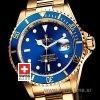 Rolex Submariner Gold Blue Dial | Luxury Swiss Replica Watch