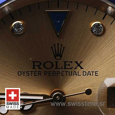 Rolex Submariner 2Tone Serti Silver