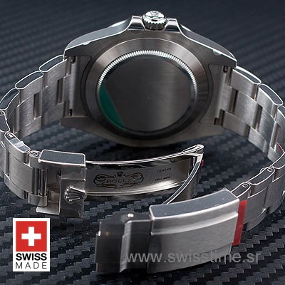 Rolex Explorer II Black SS 42mm