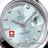 Rolex Day-Date II SS Blue Diamonds-1239