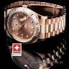 Rolex Day-Date II Rose Gold Gold Diamonds-1194