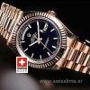 Rolex Day-Date II Rose Gold Black-1178