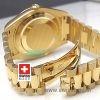 Rolex Day-Date II Gold Black Arabic-1134
