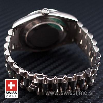 Rolex Day-Date II SS Black Arabic-1212