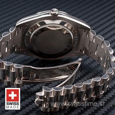 Rolex Day-Date II SS Black Arabic-1213