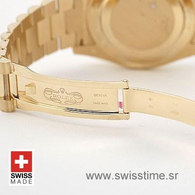 Rolex Day Date II Gold Diamond Dial | Swisstime Replica Watch