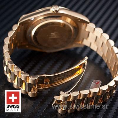Rolex Day-Date II Gold Wave-1158