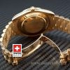 Rolex Day-Date II Gold Wave-1159