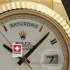 Rolex Day-Date II Gold White Roman-1172