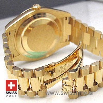 Rolex Day-Date II Gold White Roman-1170