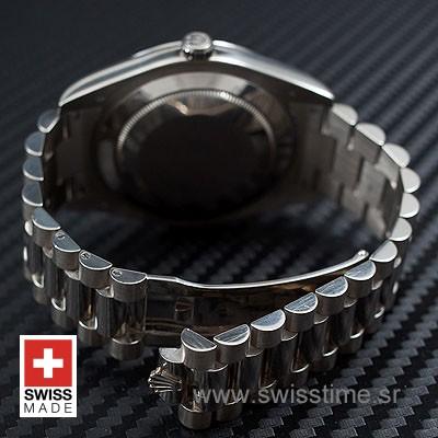 Rolex Day-Date II SS Black Diamonds-1220