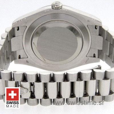 Rolex Day-Date II SS White Roman-1291