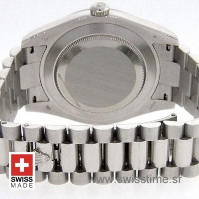 Rolex Day-Date II SS Silver-1271