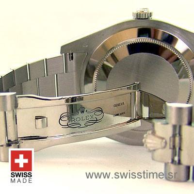 Rolex Day-Date II SS Silver-1272