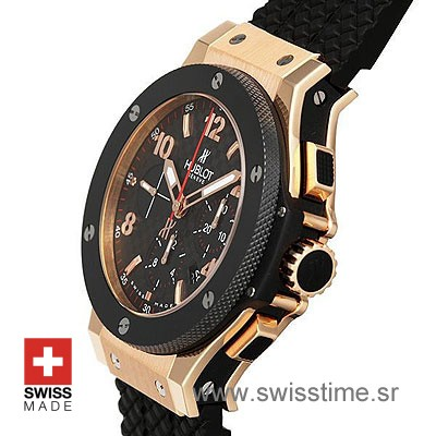 Hublot Big Bang Evolution Rose Gold Black-775