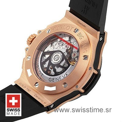Hublot Big Bang Evolution Rose Gold Black-776