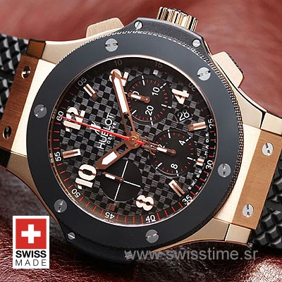 Hublot Big Bang Evolution Rose Gold Black-778