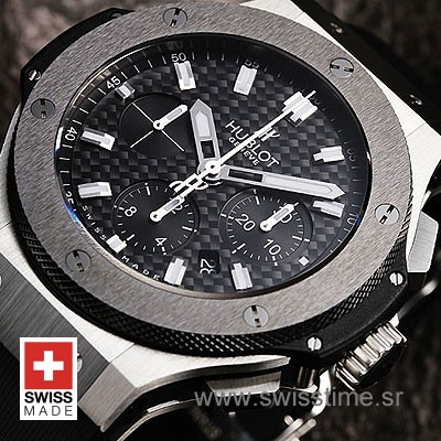 Hublot Big Bang Evolution SS Black Bezel-791