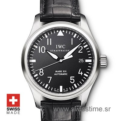 IWC Pilot Mark XVI Black SS