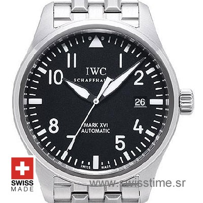 IWC Pilot Mark XVI Black SS-544