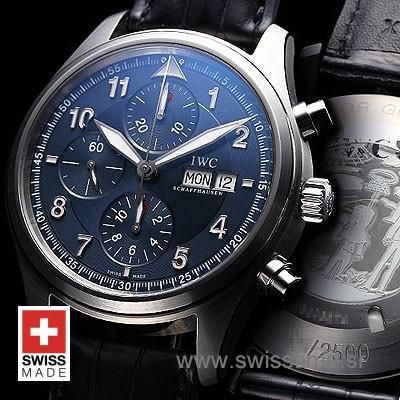 IWC Pilot Chronograph Laureus 42mm   Luxury Replica Watch
