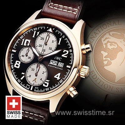 IWC Pilot Exupery Chrono Rose Gold-540