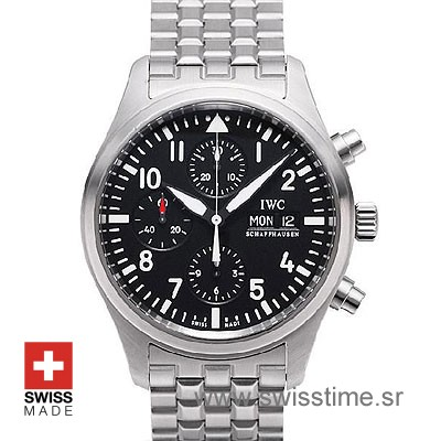 IWC Schaffhausen Pilot Chronograph 42mm | Swisstime Watch