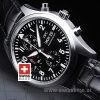 IWC Pilot Chrono SS Leather-521
