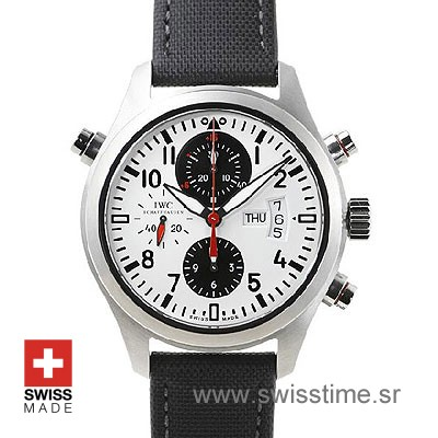 IWC Pilot Double Chronograph German | Swiss Replica Watch
