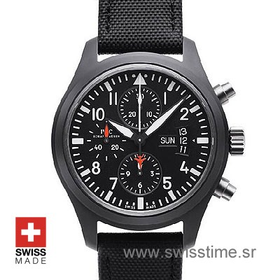 IWC Pilot Chronograph Top Gun Ceramic | Swisstime Watch