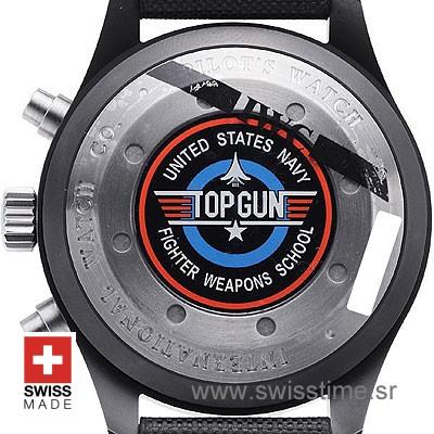 IWC Pilot Chronograph Top Gun Ceramic | Swisstime Watch