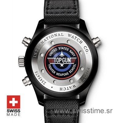 Buy IWC Pilot Double Chronograph top Gun Ceramic   Swisstime