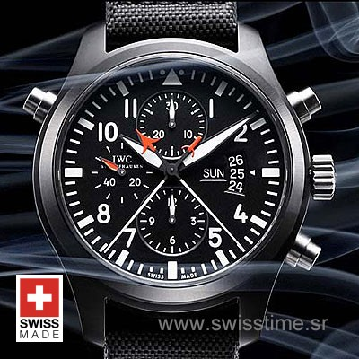 IWC Pilot Double Chrono Top Gun-534