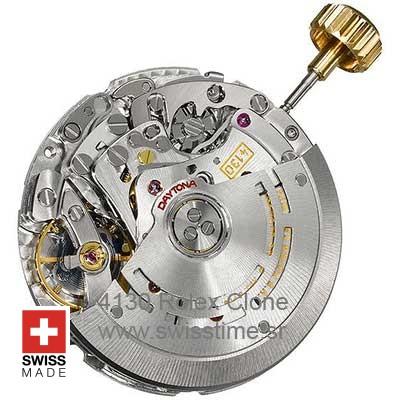 4130 Rolex Clone Swiss Movement
