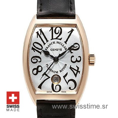 Franck Muller Casablanca Rose Gold White