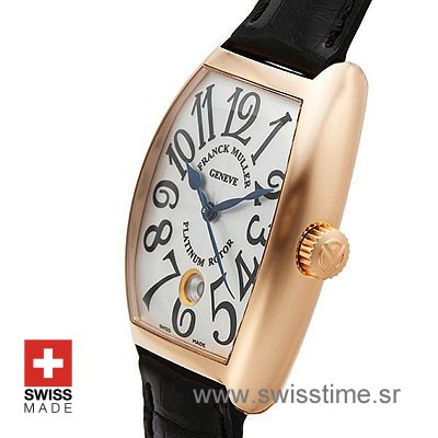 Franck Muller Casablanca Rose Gold White-472