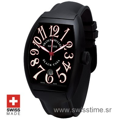 Franck Muller Casablanca DLC Black Red