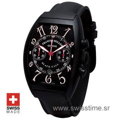Buy Franck Muller Casablanca Black Case at Swisstime