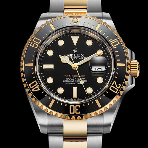 Best Rolex Sea Dweller Two Tone Review | Swiss Replica Watch
