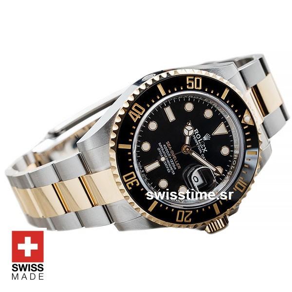 Rolex Sea Dweller Two Tone | 904L Steel & Gold Replica Watch