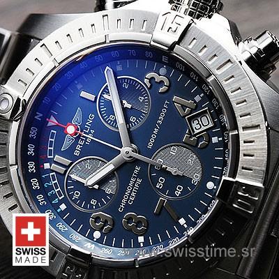 Breitling Avenger Seawolf SS Blue Arabic-593