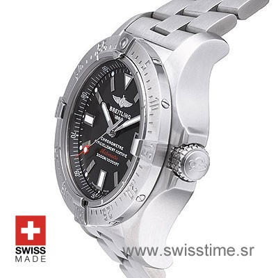 Breitling Avenger II Seawolf Black dial   Swisstime Replica Watch