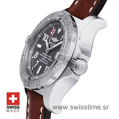 Breitling Avenger Seawolf Leather Strap | Swiss Replica Watch