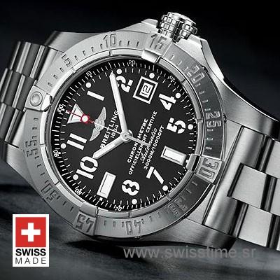 Breitling Avenger II Seawolf Stainless Steel | Swisstime Watch