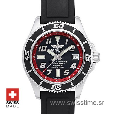 Breitling Superocean Chronograph II Red | Swiss Replica Watch