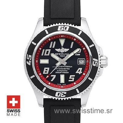 Breitling Superocean Chronograph II Red | Swiss Replica Watch